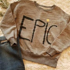 J. Crew Cute Sweatshirt Size XXS